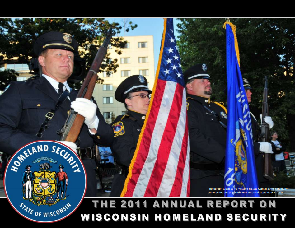 2001 Wisconsin Homeland Security Council Annual Report